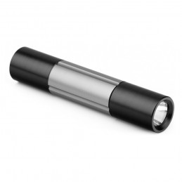 DEXTER. Flashlight 21124.47, Gun metal