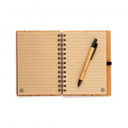 DICKENS. A5 Notepad bambus 93485.60, Natural