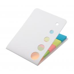 Zinko - notiţe cu adeziv AP731612-01, alb