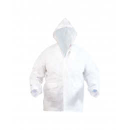 Hydrus - geacă de ploaie AP791500-01, alb