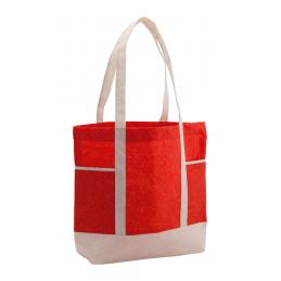 Carole - geantă cumpărături iuta AP791087-05, roșu