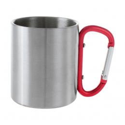 Bastic - cană metalică AP741563-05, roșu