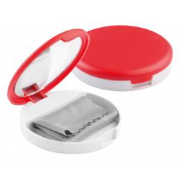 Senet - suport cu oglindă pentru telefon mobil AP741180-05, roșu