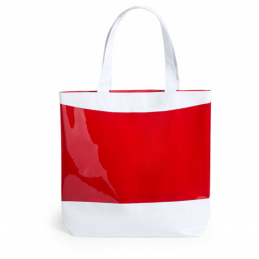 Rastek -sacosa cu buzunar transparent AP741991-05, roșu