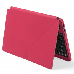 Tyrell - iPad® holder with keyboard and bluetooth connection AP781475-05, roșu
