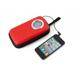 Scaly - suport telefon mobil cu difuzor AP791965-05, roșu