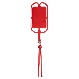 Veltux - suport telefon cu lanyard AP781750-05, roșu