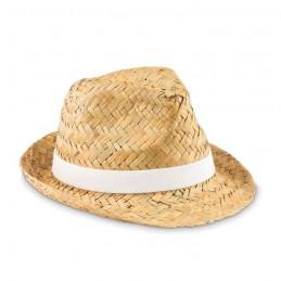 MONTEVIDEO - Pălărie din paie naturale      MO9844-06, White