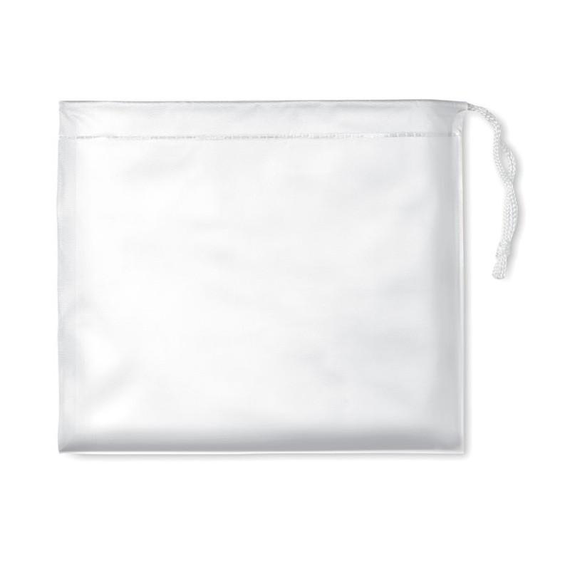 REGAL - Impermeabil cu glugă în husă   IT0971-06, White