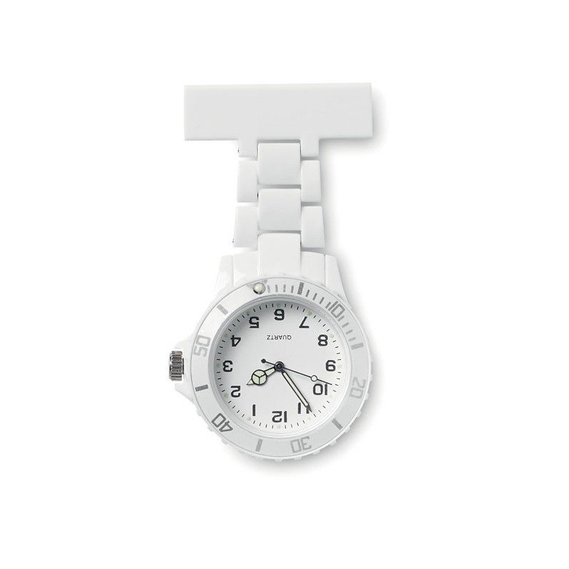 NURWATCH - Ceas analog pt. halat medical  MO8256-06, White