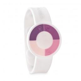 UV CHECK - Brățară cu senzor UV.          MO9589-06, White