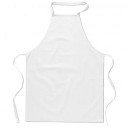 KITAB - Şorţ bucătărie bumbac          MO7251-06, White