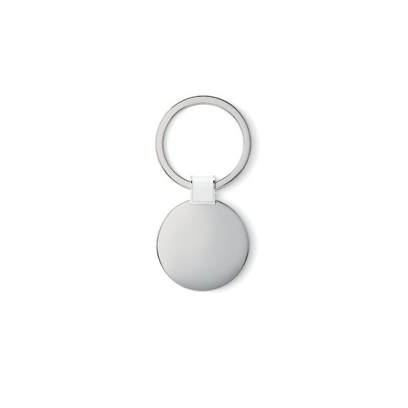 ROUNDY - Breloc în formă rotundă        MO8462-06, White