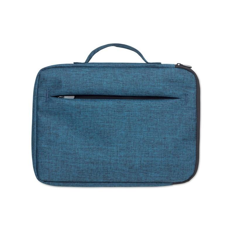 SLIMA BAG - Geantă pt. laptop cu fermoar   MO9990-04, Blue