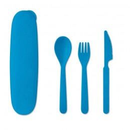 SIYA - Set de tacâmuri cu 3 piese     MO9744-37, Royal blue