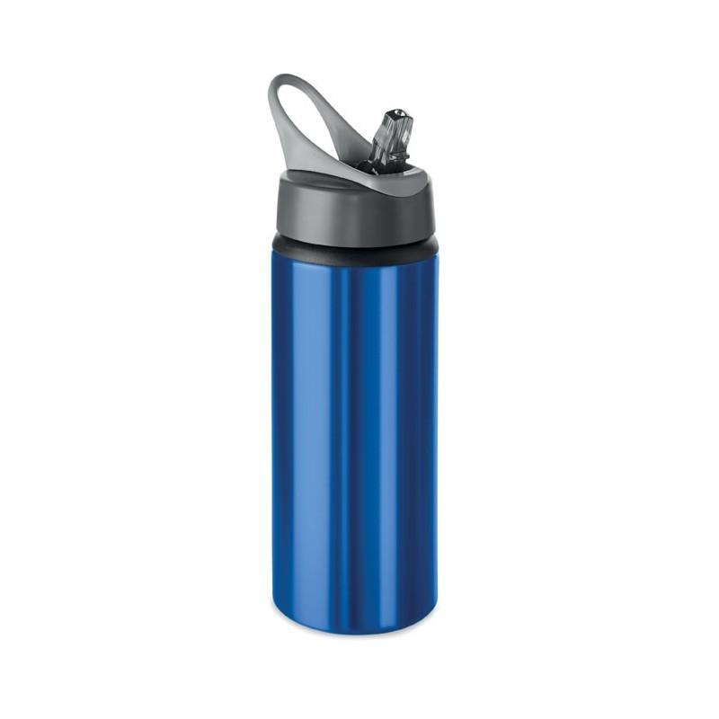 ATLANTA - Sticlă din aluminiu de 600 ml  MO9840-04, Blue