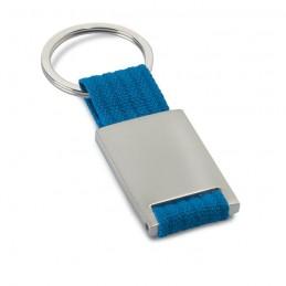 TECH - Breloc dreptunghiular metalic  IT3020-04, Blue