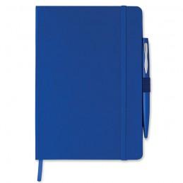 NOTAPLUS - Carnet A5 cu pix               MO8108-04, Blue