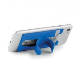 ARC - Suport card silicon cu agrafă  MO9685-37, Royal blue