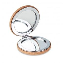 GUAPA CORK - Oglindă cu capac din plută     MO9799-13, Beige