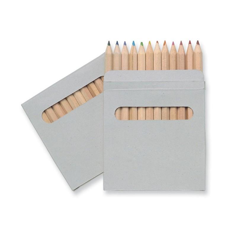 ARCOLOR - Set de 12 creioane colorate    IT1047-01, Brown
