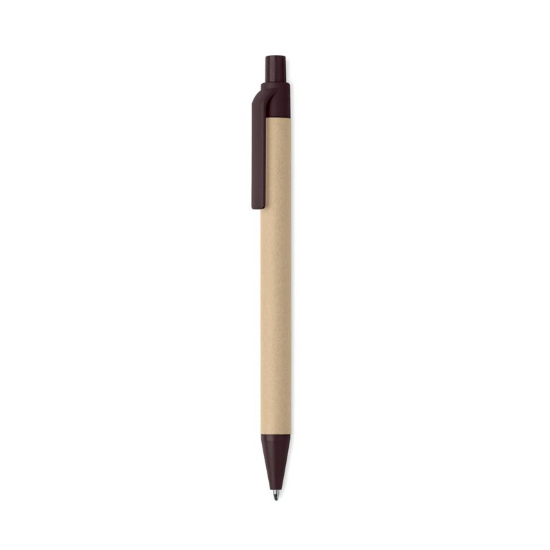 JANEIRO - Pix cu buton din cafea/ABS     MO9862-01, Brown