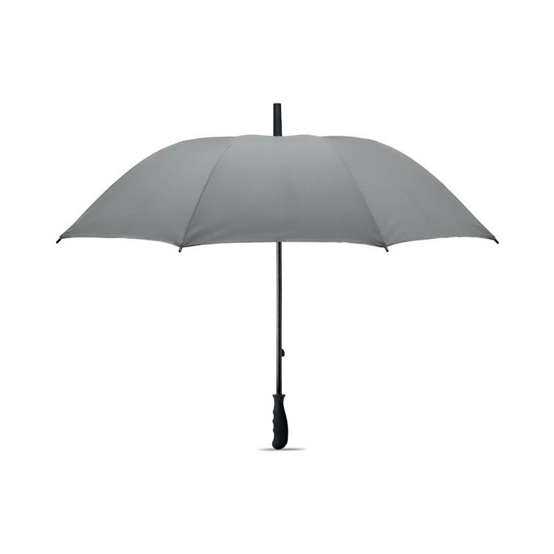 VISIBRELLA - Umbrelă reflectorizantă        MO6132-16, Dull silver