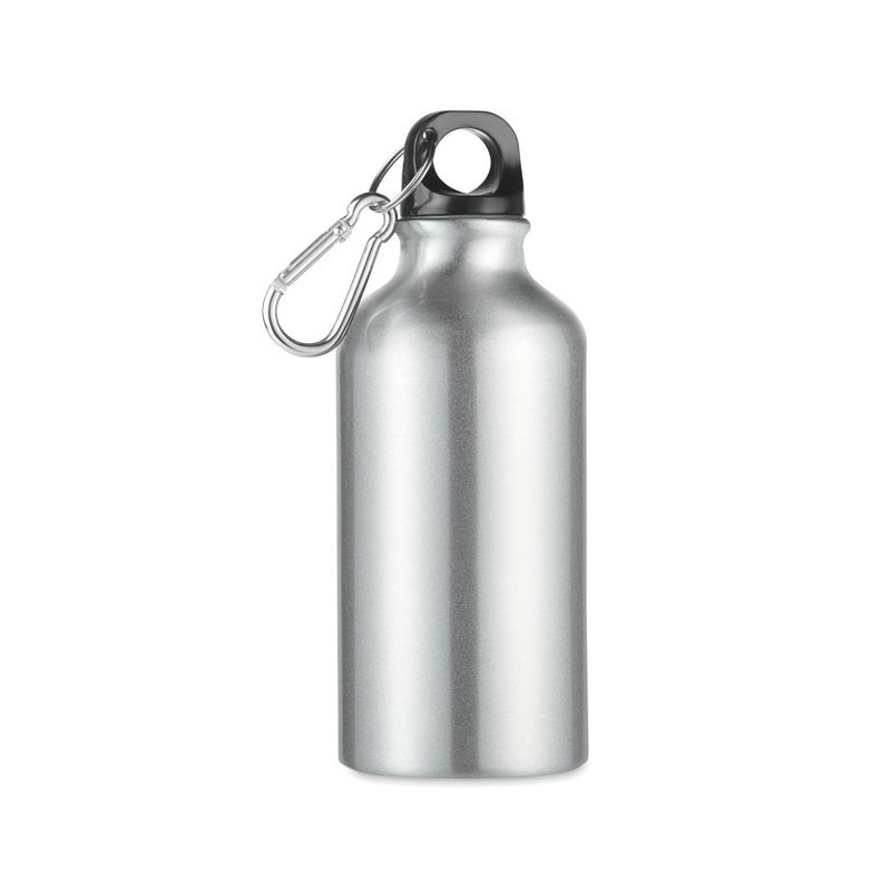 MID MOSS - Sticlă din aluminiu de 400 ml  MO9805-16, Dull silver