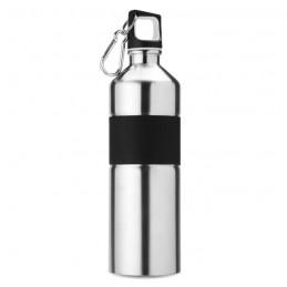 TENERE - Sticlă pentru băut, bicoloră   MO7490-16, Dull silver