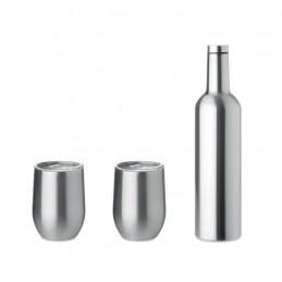 CHIN SET - Set de sticle și căni          MO9971-16, Dull silver