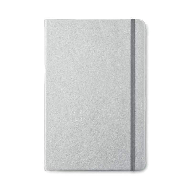 GOLDIES BOOK - Carnet A5 cu foi dictando      MO8637-16, Dull silver