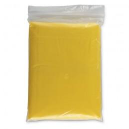 SPRINKLE - Impermeabil cu glugă în husă   IT0972-08, Yellow