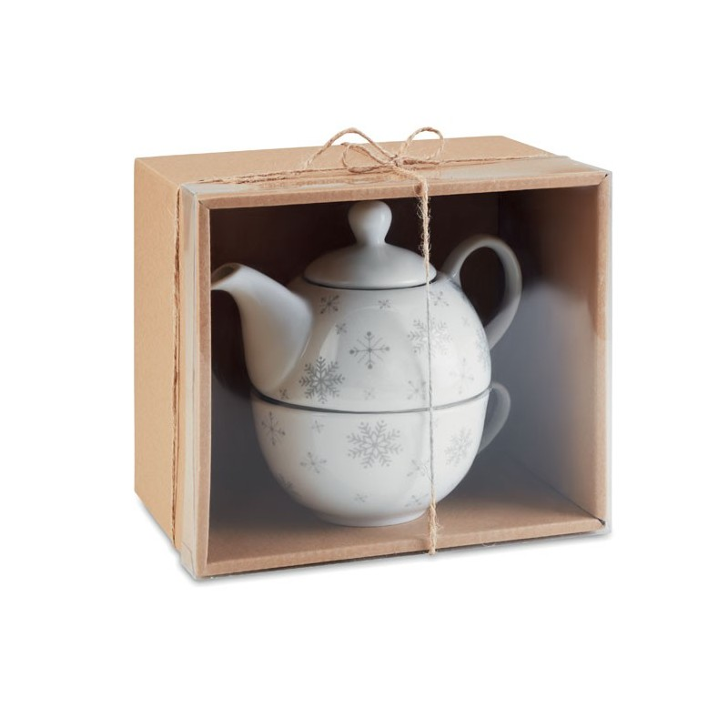 SONDRIO TEA - Set ceai Crăciun               CX1451-07, Grey