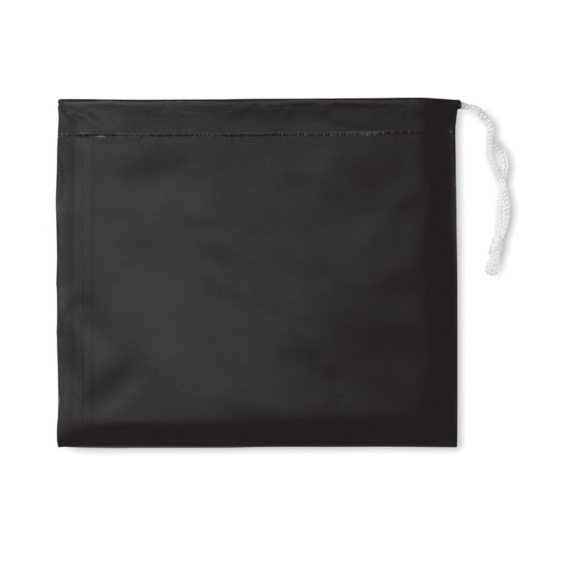REGAL - Impermeabil cu glugă în husă   IT0971-03, Negru
