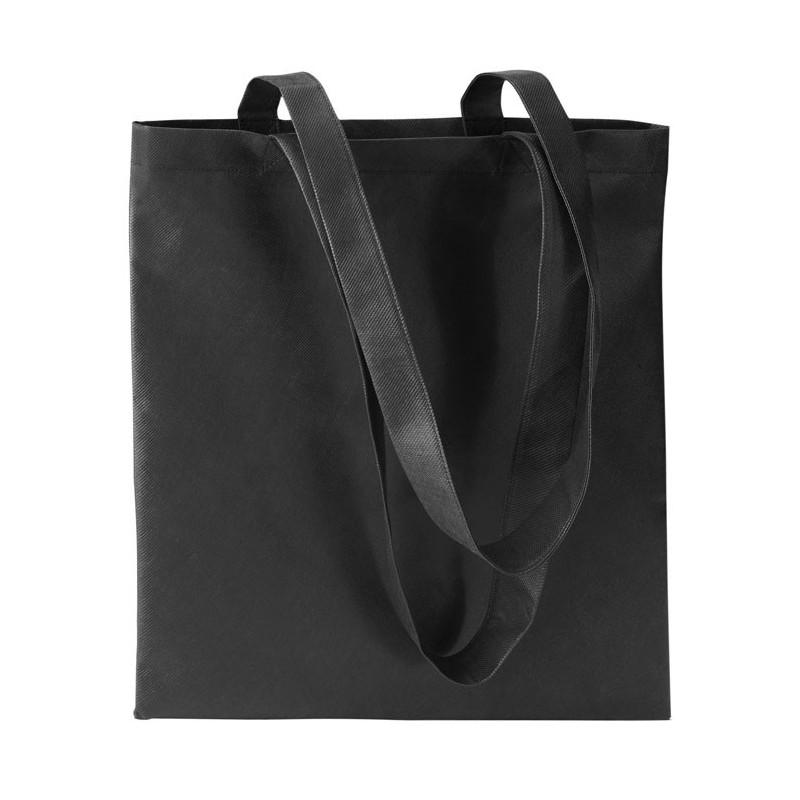 TOTECOLOR - Sacoşă de cumpărături neţesut  IT3787-03, Negru