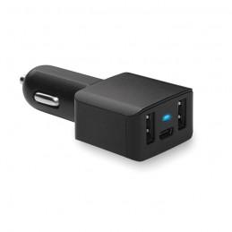 CHARGEC - Încărcător USB auto tip C      MO9110-03, Negru