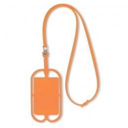 SILIHANGER - Suport silicon telefon         MO8898-10, Portocaliu