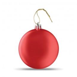 LIA BALL - Glob plat de Crăciun           CX1454-05, Rosu