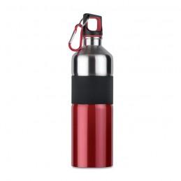 TENERE - Sticlă pentru băut, bicoloră   MO7490-05, Rosu