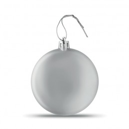 LIA BALL - Glob plat de Crăciun           CX1454-14, Silver