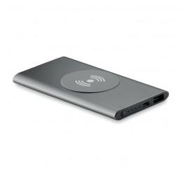 POWER&WIRELESS -  Powerbank Wireless de 4000mAh MO9498-18, Titanium