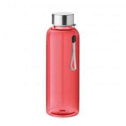 UTAH RPET - RPET bottle 500ml              MO9910-25, Transparent Rosu