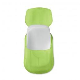 SOAP TO GO - Foi de săpun în carcasă de PP  MO9957-51, transparent lime