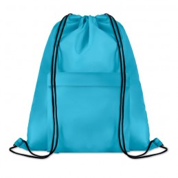 POCKET SHOOP - Sac mare cu cordon             MO9177-12, Turquoise