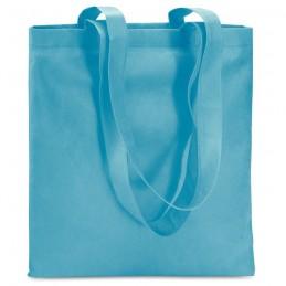 TOTECOLOR - Sacoşă de cumpărături neţesut  IT3787-12, Turquoise