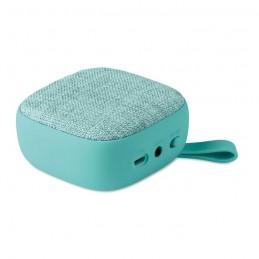 ROCK - Boxă BT textilă pătrată        MO9260-12, Turquoise