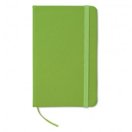 NOTELUX - Carnet A6 liniat               MO1800-48, Lime