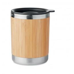 LOKKA - Pahar, perete de bambus 250ml  MO9937-40, Wood
