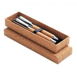 QUERCUS - Set pixuri în cutie de plută   MO9678-40, Wood