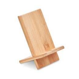WHIPPY - Suport pt. telefon de bambus   MO9944-40, Wood